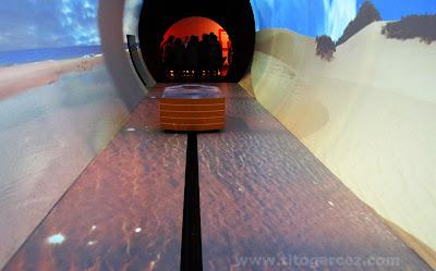 Túnel do espaço Nossos Leitos, no Museu da Gente Sergipana, em Aracaju - Sergipe
