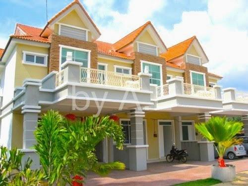 Alpropertypenang penang property 2 storey terrace at for Terrace 9 classic penang
