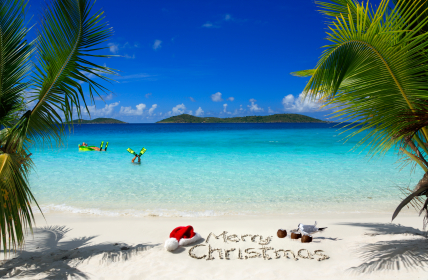 caribbean island postcard wallpaper - photo #35