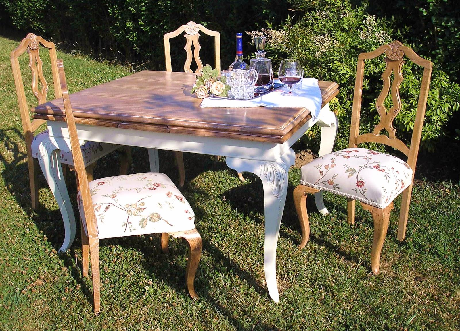 El desvan de mamen mesa de comedor shabby - Mesas de comedor restauradas ...