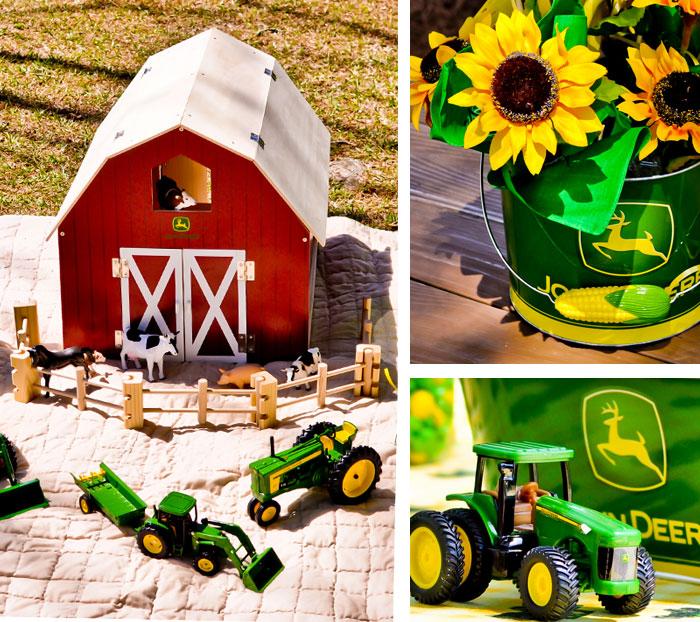 Kara 39 S Party Ideas John Deere Tractor Birthday Party