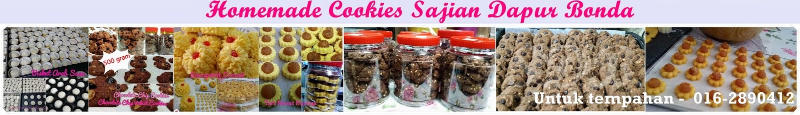 Homemade Cookies Sajian Dapur Bonda