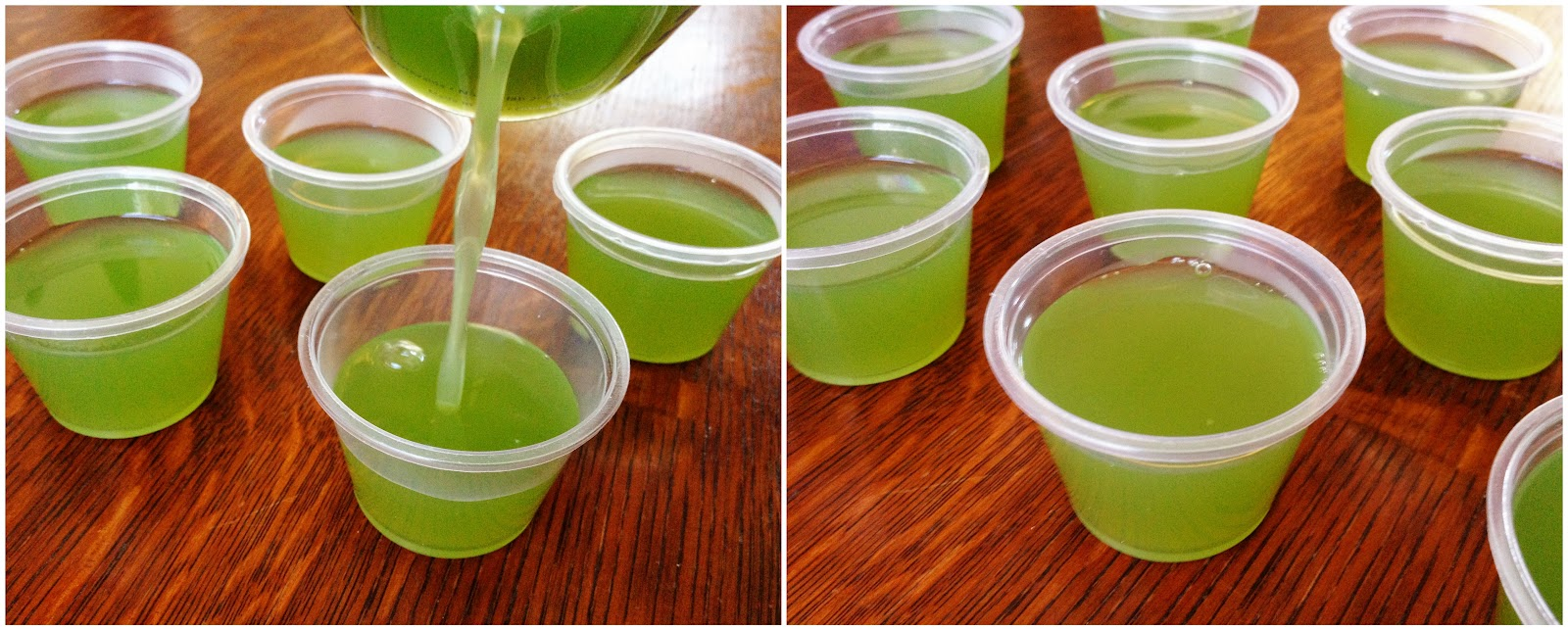 ... shot glasses or a silicone mold. This recipe will make enough jello to