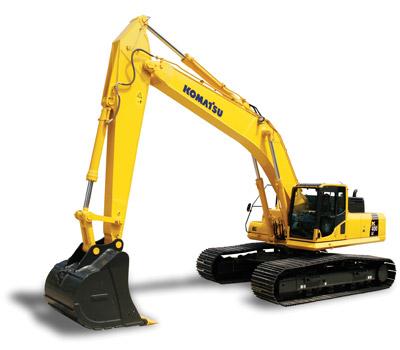 Komatsu Excavators PC450LC-8