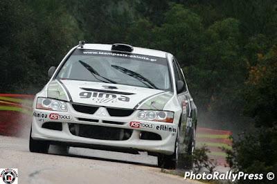 3ο Athens Rally Sprint: Αποτελέσματα