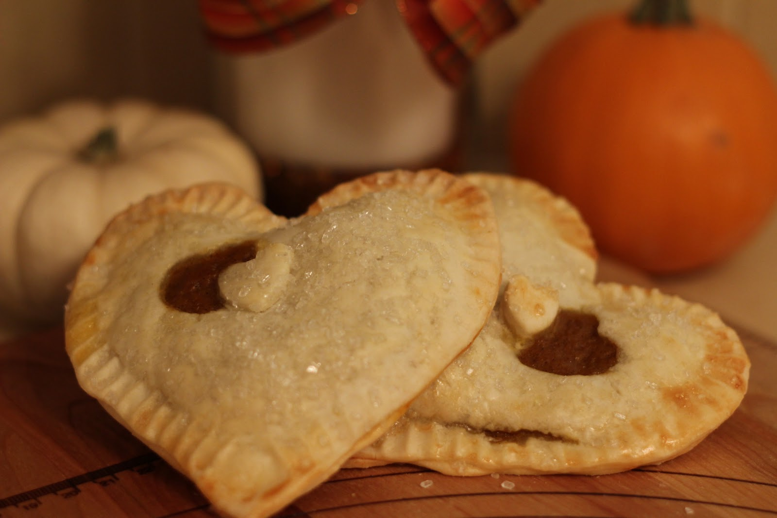 Three Yellow Lemons: Pumpkin Pocket Pies