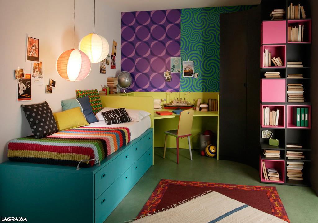 Dormitorios modernos con escritorio – dabcre.com