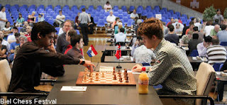 Echecs ronde 9 : Etienne Bacrot (2713) 0-1 Hikaru Nakamura (2778) © site officiel