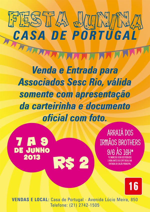 Festa Junina 2013 - Casa de Portugal de Teresópolis
