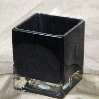 Buy Wholesale Black Glass Cubes