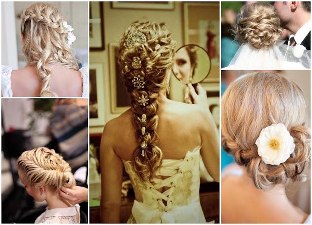 Плетение кос на свадьбу