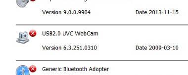 Instalar driver Webcam