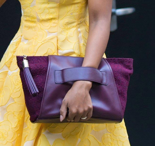 Kerry Washington: Style, Hair And The Purple Purse