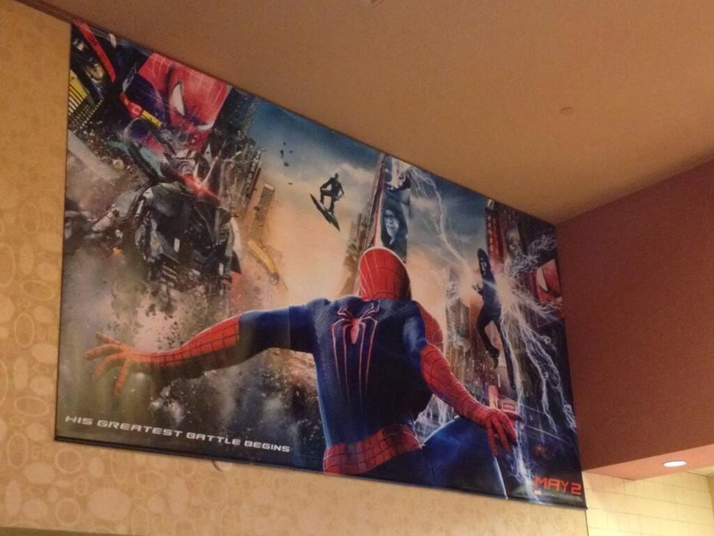 Poster The Amazing Spider-man 2 con Rhino y el Duende Verde
