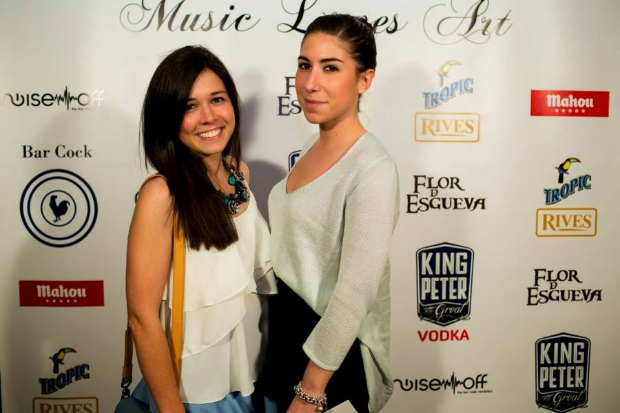 Music Loves Art, Evento, Bar Cock, Flor de Esgueva, King Peter Vodka, Tropic Premiun Rives, Carmen Hummer, Pilar Echalecu, Pablo Vega