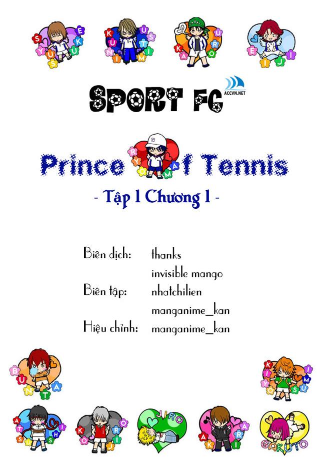 Prince of Tennis chap 1 Trang 1