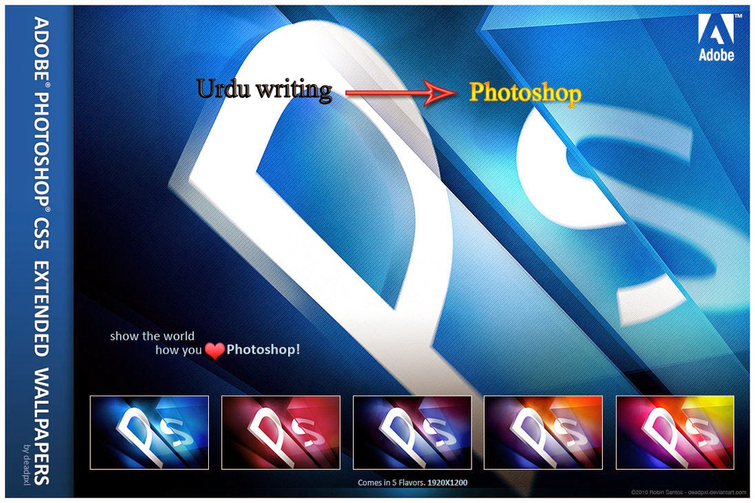 How to write adobe