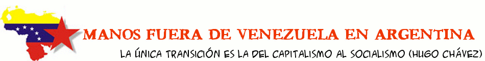 Manos Fuera de Venezuela en Argentina