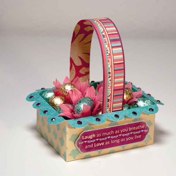 Visiting teaching surprise cute easter ideas httpjannekesmitspot201004free easter basket templateml jannie who is the designer at this site encourages you to make up her template and negle Images