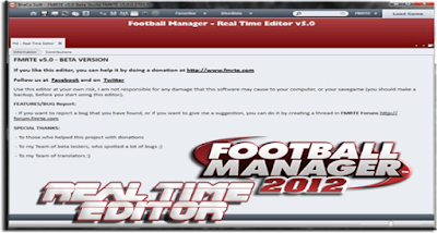 Real Time Editor For FM 2012