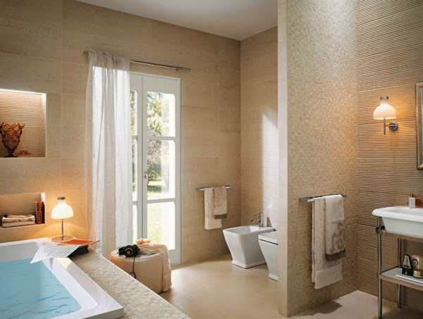11 صور تصاميم حمامات عصرية   ديكورات حمامات كبيرة و ضيقة   الوان و نقوش حوائط حمامات مودرت