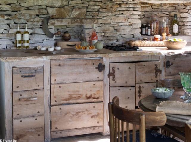 Au couer du lub ron prenons le temps for Meuble de cuisine style brocante