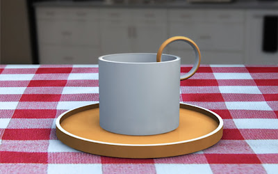 cup and saucer by erik berglund