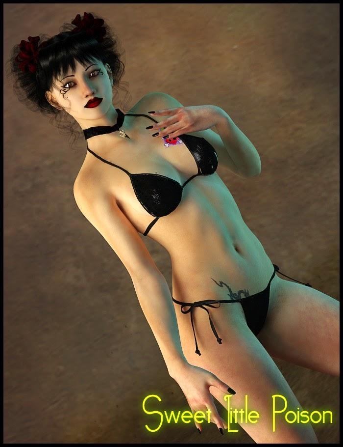 3d Models Art Zone - Sweet Little Poison