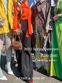 2/20 (Sat) - 2021 Spring/Summer -
