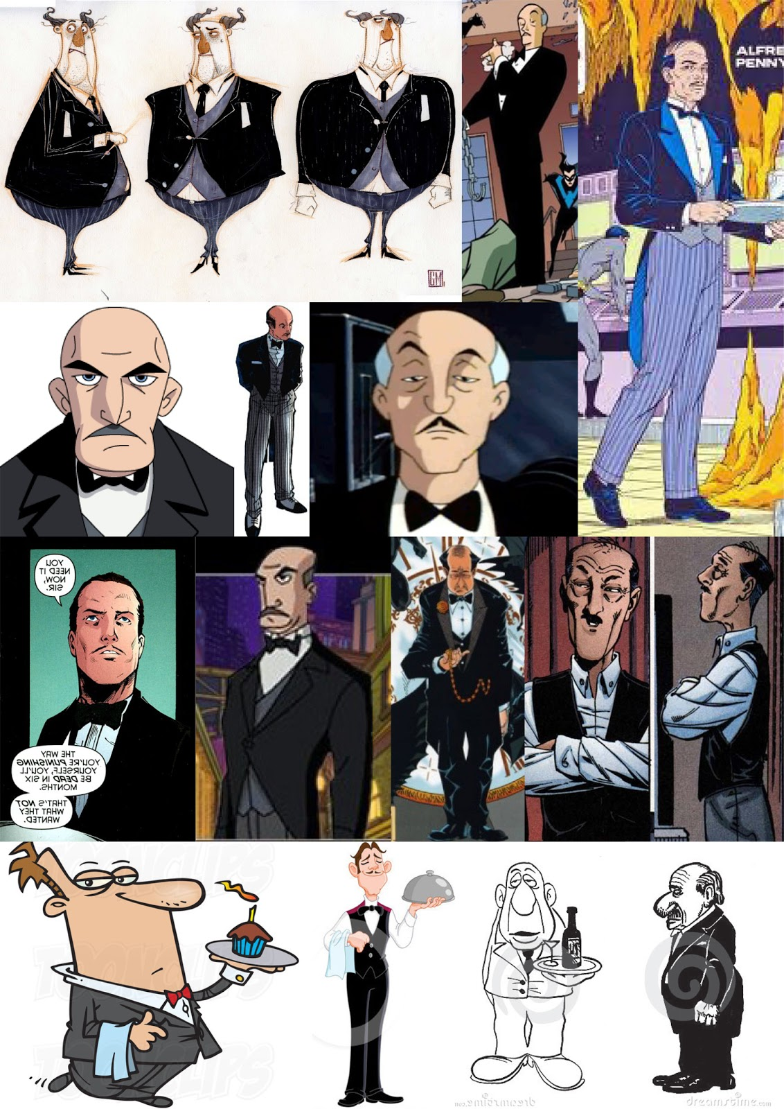 Character Design Mood Board : Ma animation nicholas mckay october