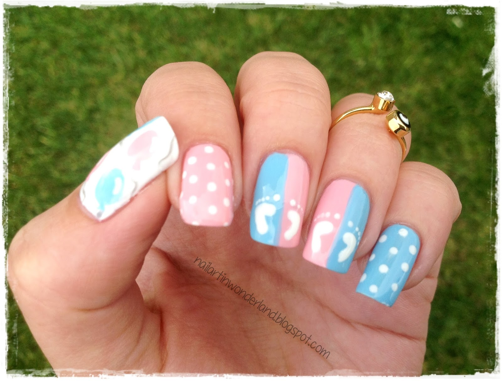 Nail Art In Wonderland Twinsie Tuesday Inspired By Your Child