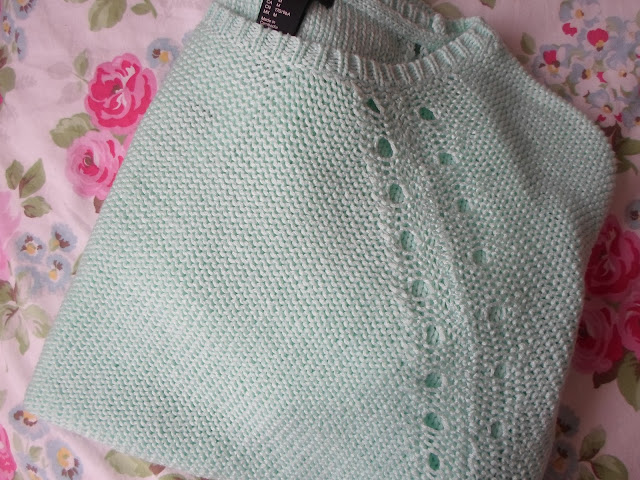 H&M Mint Green Jumper