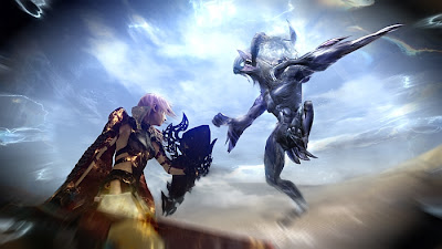 Lightning Visits The Desert In Lightning Returns: Final Fantasy XIII