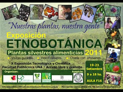 Imagen del Exposición Etnobotánica 2011