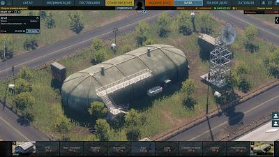 казармы и постройка базы в AW