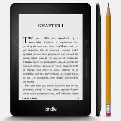 Voyage é o Kindle mais leve e mais fino feito pela Amazon