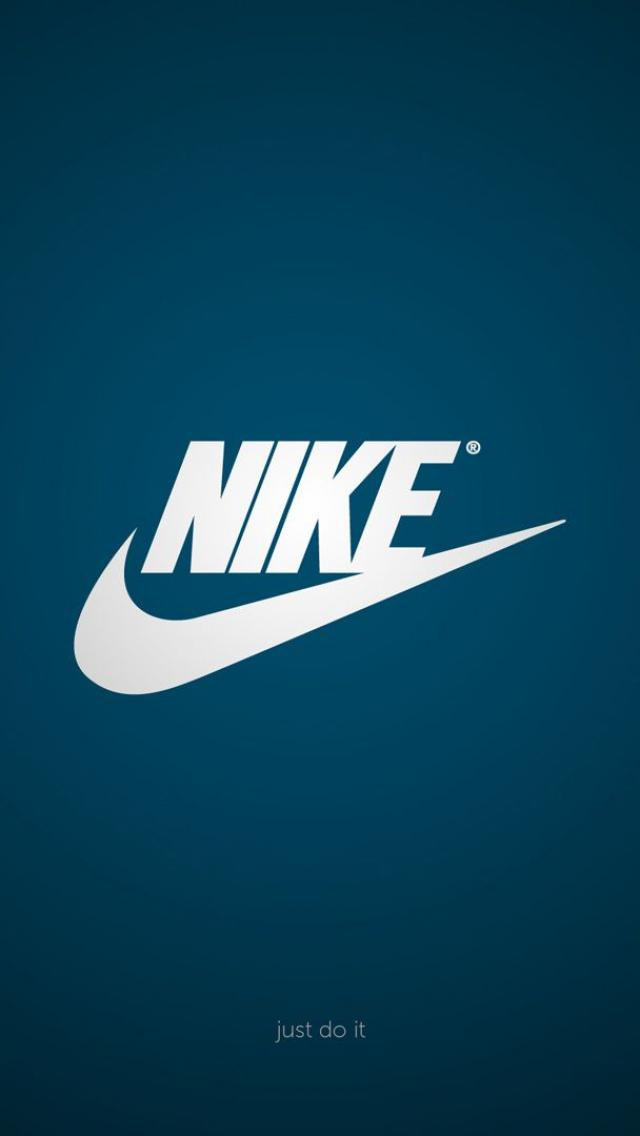 Nike Logo iPhone 5 Wallpaper