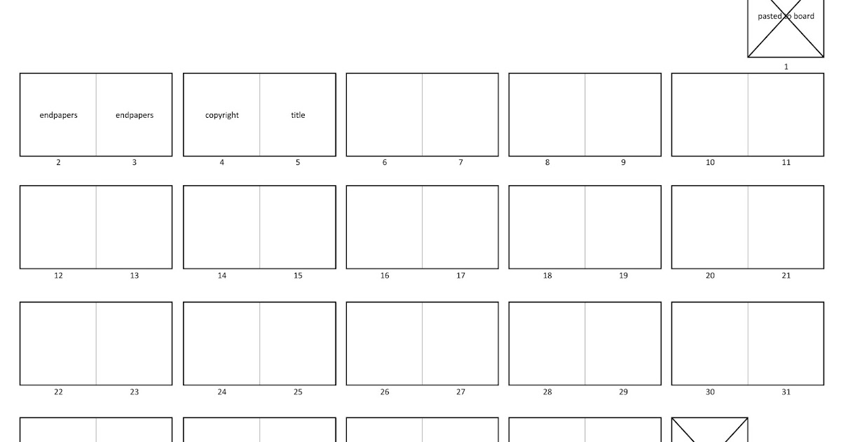 artghost 40 page self ended picture book thumbnail template