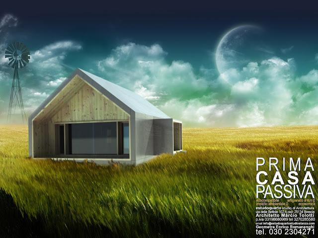 Che cosa fare per avere prima casa passiva studio di architettura a verona case passive in - Casa passiva prefabbricata ...