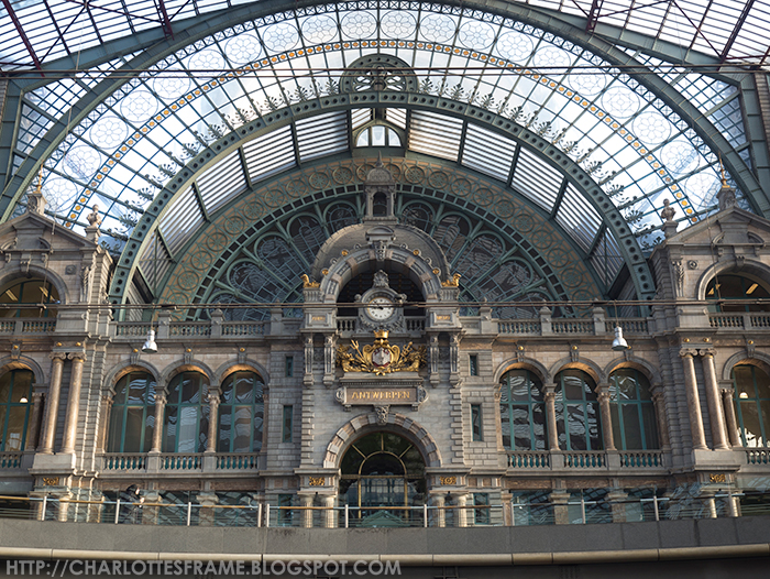 Station Antwerpen-Centraal Stationsgebouw