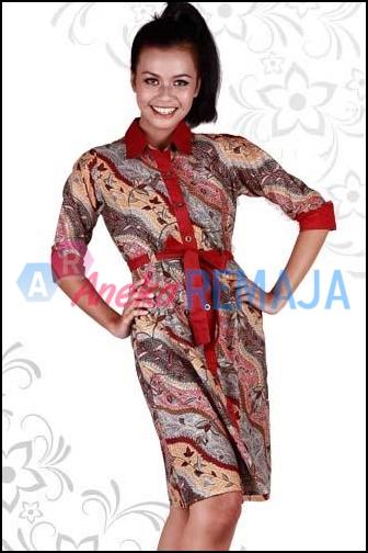 Model Baju Batik Modern Aneka Remaja