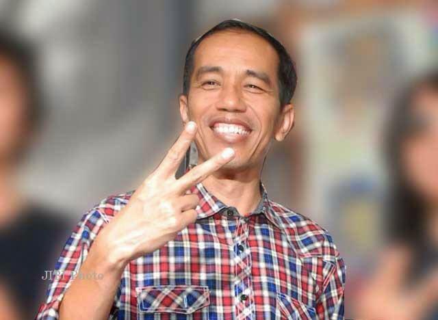 Jokowi Salam 2 Jari