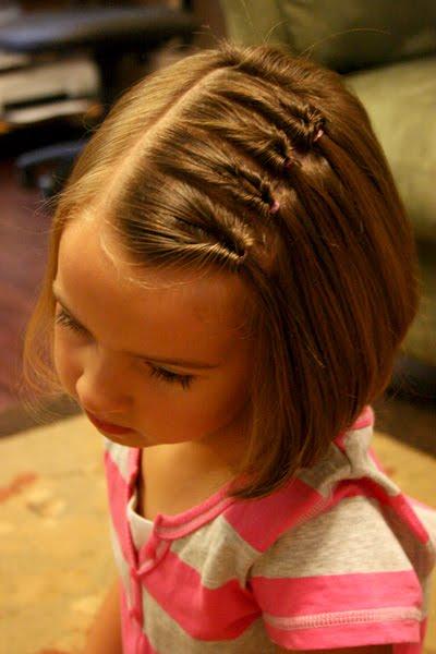 Easy Hairstyles for Little Girls Short Hair