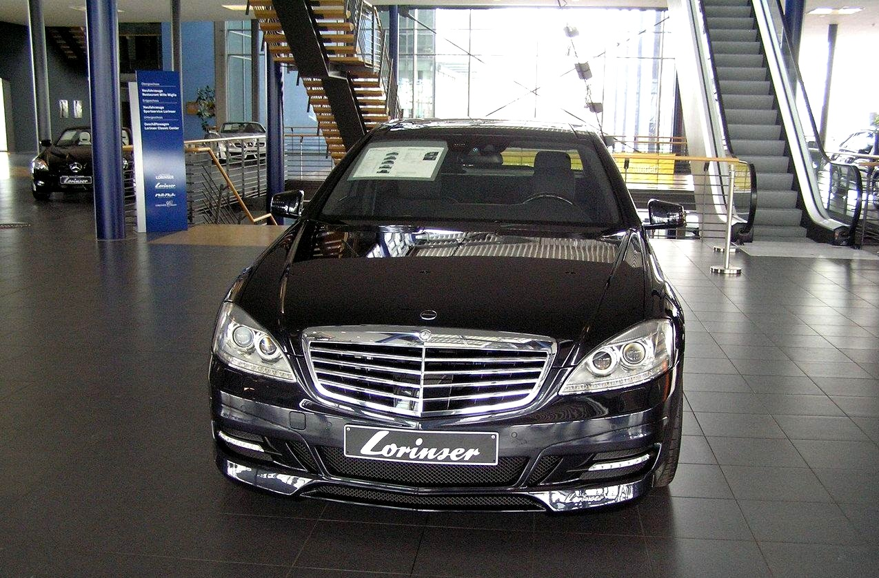 Lorinser mercedes s class w221 benztuning for Mercedes benz lorinser