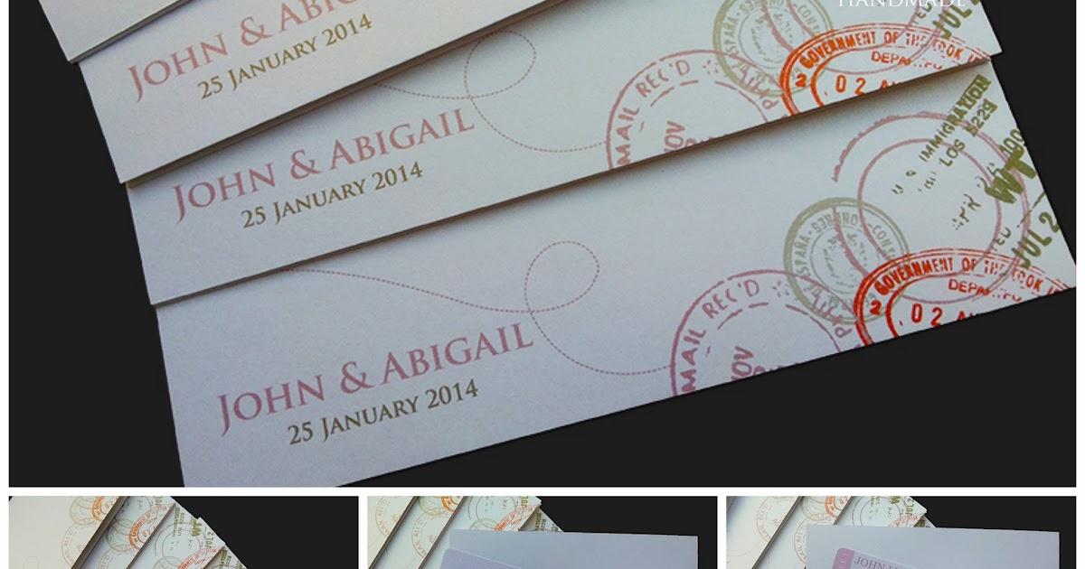 Wedding Gift For Malay Friend : Wedding Card Malaysia Crafty Farms Handmade : Wedding Boarding Pass ...