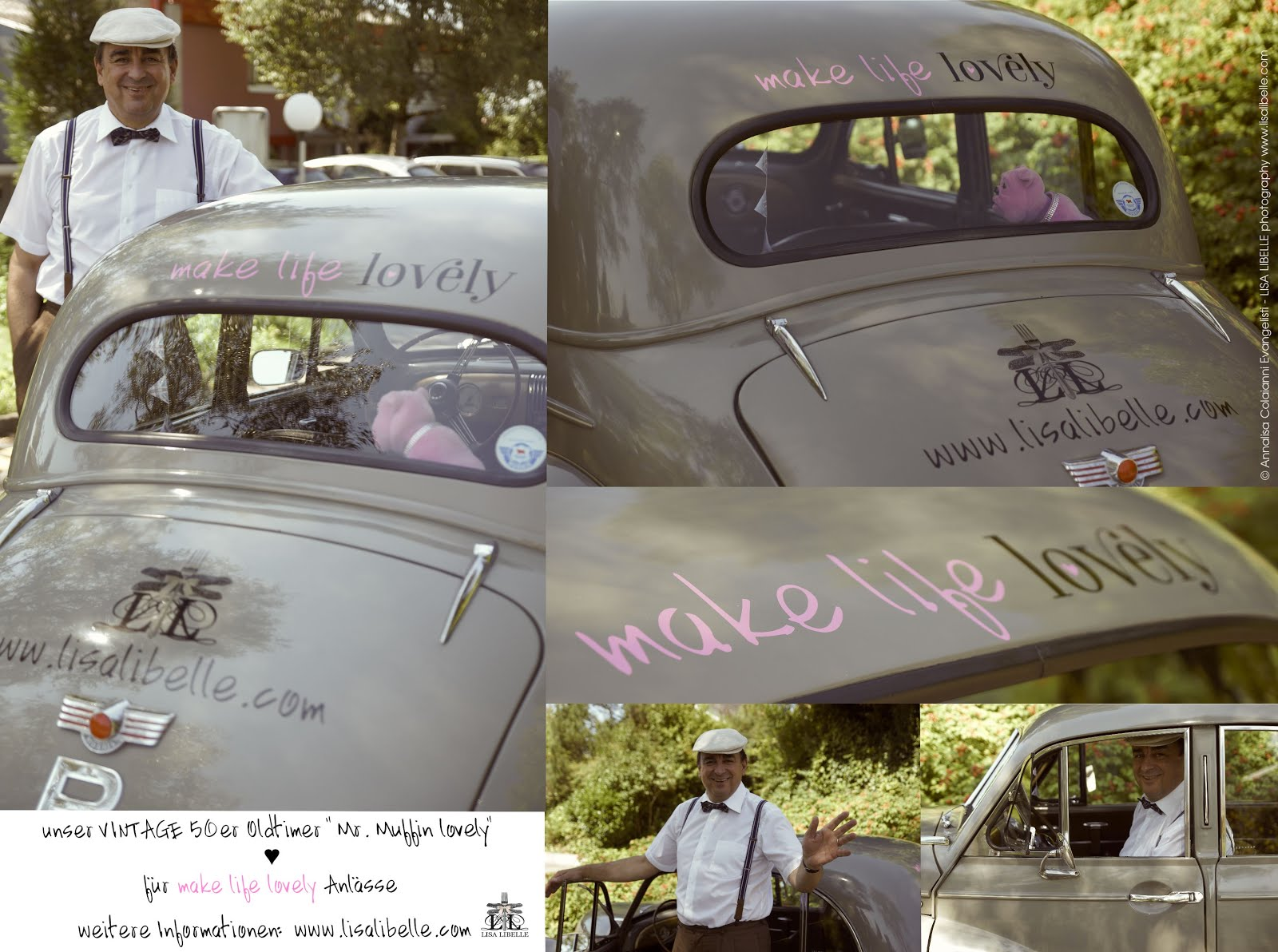 "VINTAGE & very BRITISH... unser oldtimer ""Mr. Muffin lovely"""