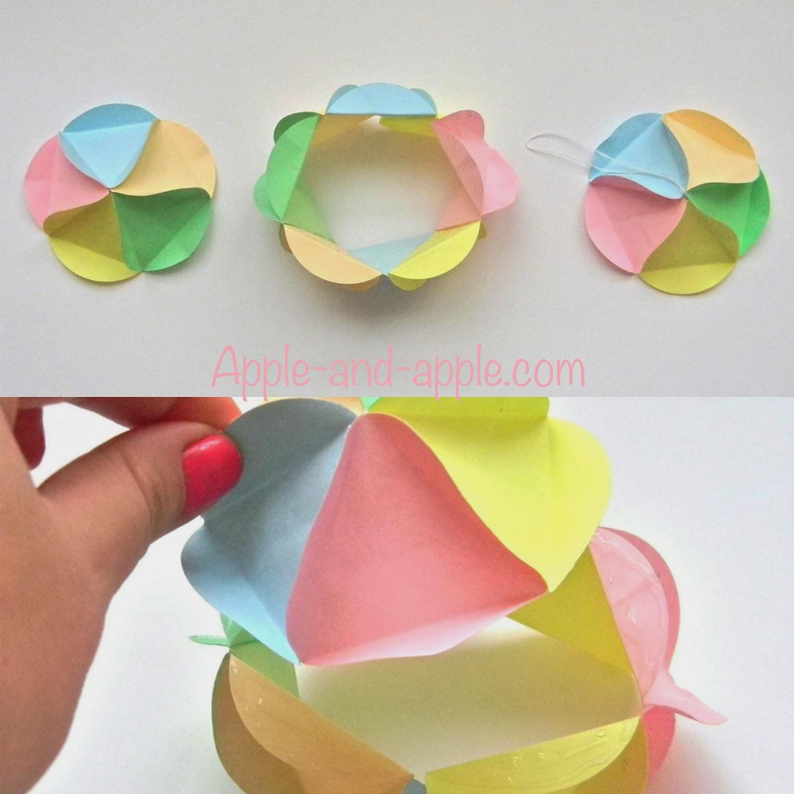Как сделать шар из бумаги в картинках 77