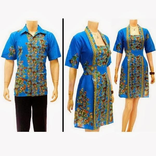 batik sarimbit dress