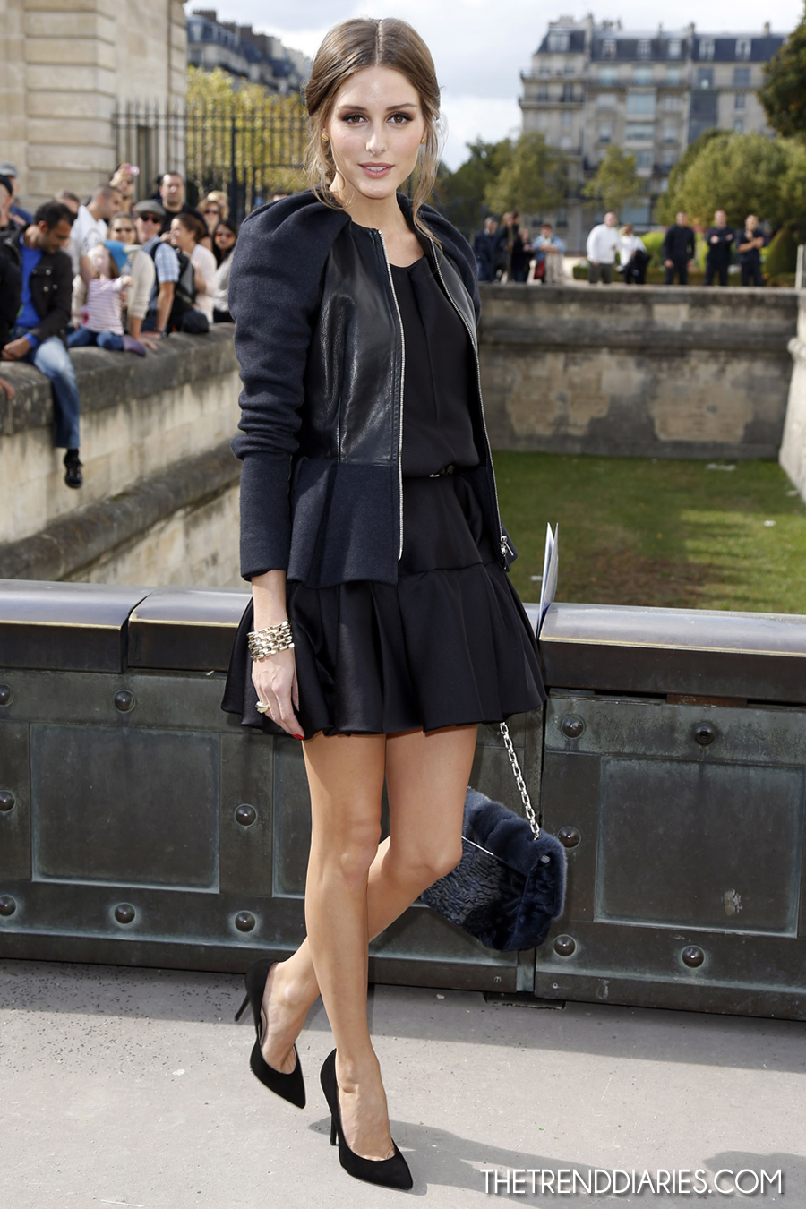Olivia Palermo at the Christian Dior Spring/Summer 2013 ...