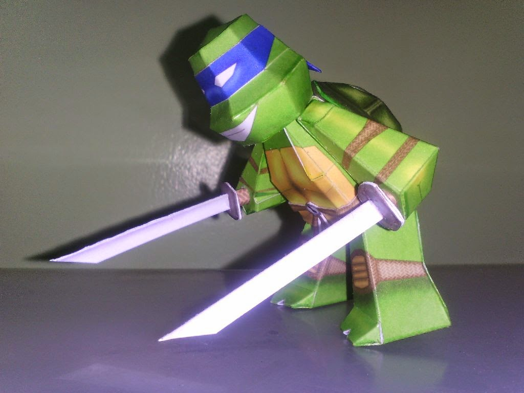 2014 TMNT Paper Toys